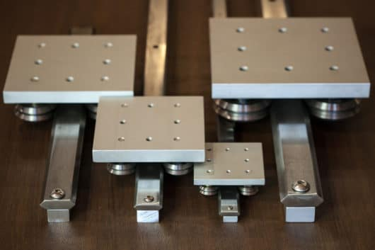 double track linear guide