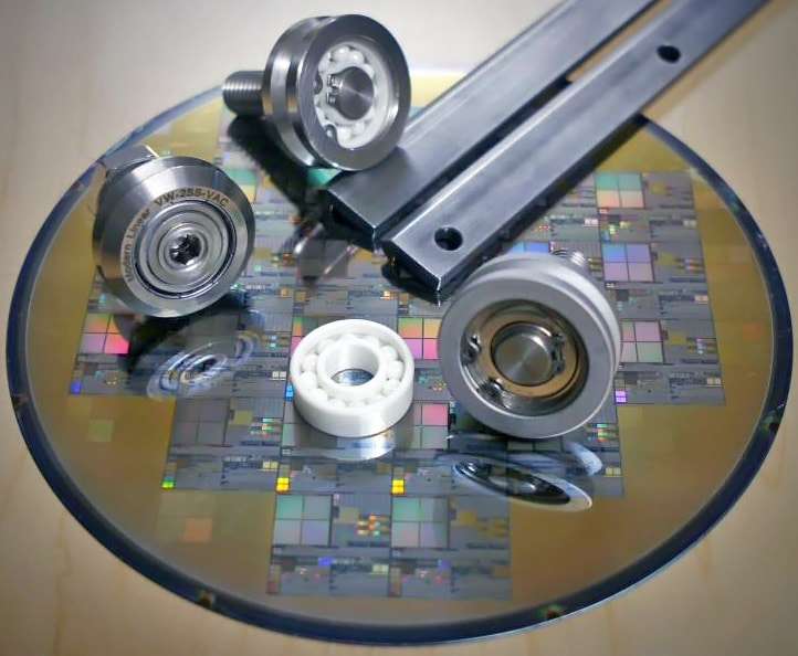 stainless guide wheels