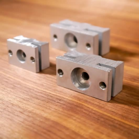 linear track clamp