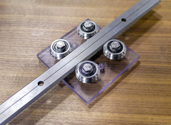stainless steel linear guide